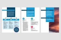 They then needed a proposal that could be used digitally and printed to explain the product to new clients.