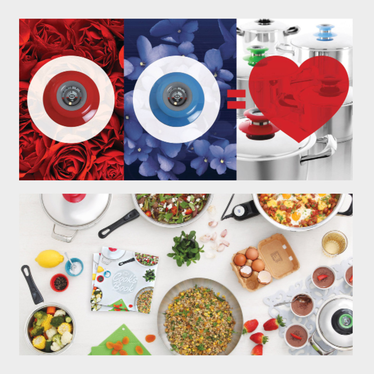 AMC Visiotherm Valentines and Cookbook