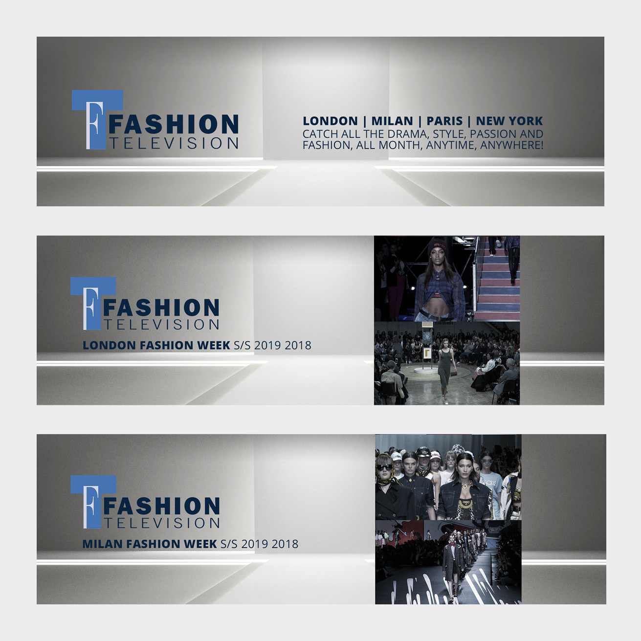 Fashion Week Live - In-app Banners