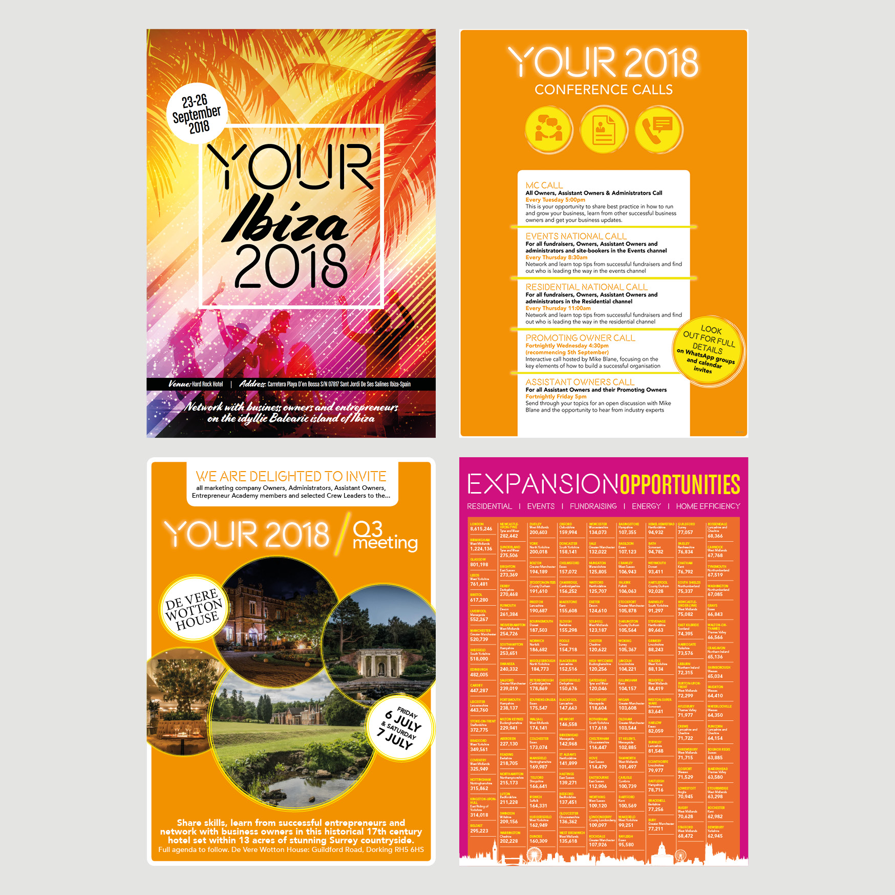 Your 2018 Event